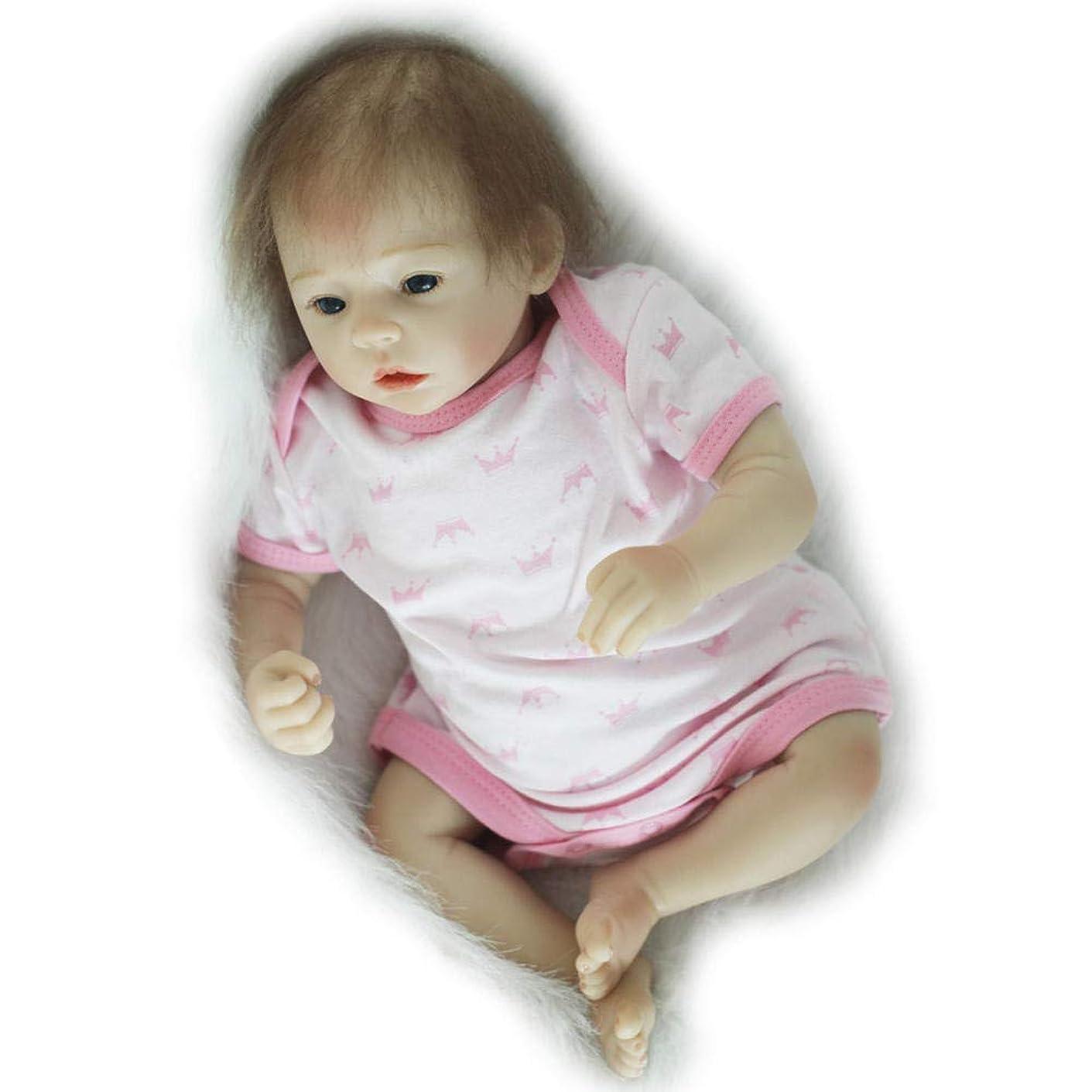 利得校長セージ幼児の生まれ変わった赤ちゃん人形手作りの記憶エイズシミュレーションソフトプラスチックシリコンプラスチック現実的な生まれ変わった人形18