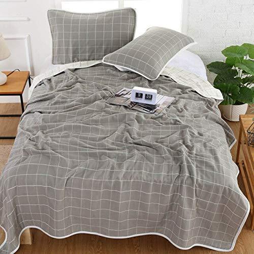 RAQ zachte katoenen handdoek deken op het bed gebreide bank Plaid voor woonkamer dikke sprei beddengoed thuis textiel 180x200cm