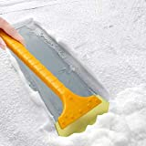 Rnwen Car Snow Brush Snow Removal Shovel Car Snow Scraper Defrost Dehumidifier Shovel Snow Car Snow Brush Tool Supplies Snow Plow Attachments & Accessories