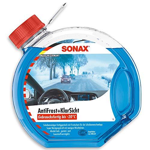 SONAX 332 400-490 AntiFrost&KlarSicht gebrauchsfertig bis-20°C, 3 Liter