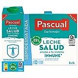 Pascual – Leche Semidesnatada Salud Bienestar Animal – 6 x 1L