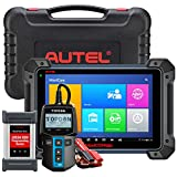 Autel MaxiSys Pro MK908P with Free Battery Tester BT100, Automotive Diagnostic Tool (Same as MaxiSys Elite) with WiFi Bluetooth Jbox J2534 VCI ECUs BCM PCM Reprogramming, Coding and 30+ Maintenance Functions