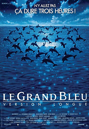 Le Grand bleu Movie Poster Prints Wall Art Decor Unframed,32x22 16x12 Inches,Multiple Patterns Available