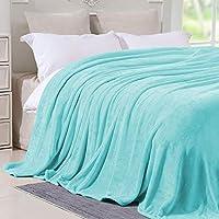 Hboemde Fleece Microfiber Plush Flannel Blanket