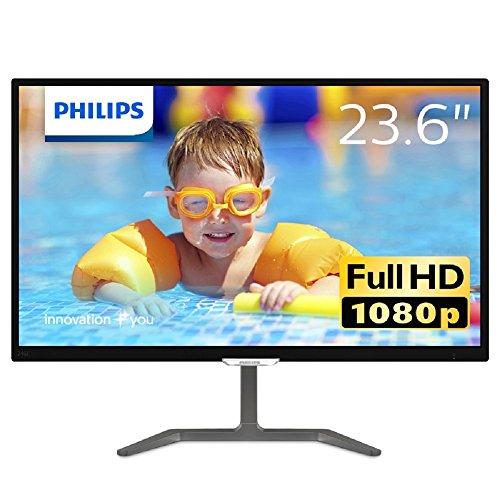 Philips 23.6型ワイド液晶ディスプレイ (PLSパネル/フルHD/HDMI1.4/DVI-D/D-Sub15/5年間フル保証) 246E7QDS...