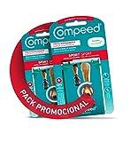 Compeed Extreme, Ampollas Medianas Con 20% Más Almohadillado, 5 Apósitos Hidrocoloides - Pack De 2...
