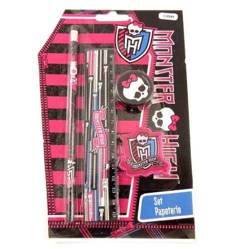 Monster High [L0949] - Set scolaire 'Monster High' noir...