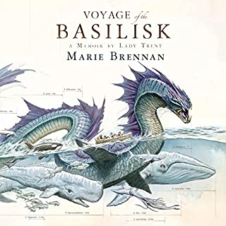 The Voyage of the Basilisk audiobook cover art