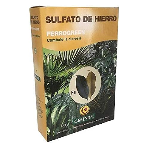 Greendel Sulfato de Hierro para Clorosis Ferro-Green 1 kg