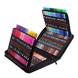 Rotuladores lettering para colorear de punta fina y cepillada, 120 Rotuladores Punta Pincel Brush Pen
