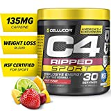Best Pre Workout Supplements - Cellucor C4 Ripped Sport Pre Workout Powder, Thermogenic Review