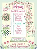 Mum's Bed & Breakfast Summer of Love Small Metal Sign 15 x 20cms by Original Metal Sign Co