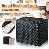 Funda para panificadora de 43 x 28 x 38 cm, con clip de algodón y poliéster, para proteger tu máquina de pan o pequeño electrodoméstico, lavable a máquina