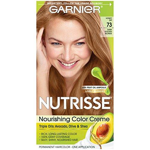 Garnier Nutrisse 73Blond–Färbung des (Blond, Dark Golden Blonde Haar, Aqua/WATER, Cetearyl Alkohol, Propylene Glycol, deceth-3laureth-12, Ammonium Hydroxide.)