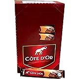 Côte d'Or Schokoladen-Riegel Dessert 58, 32 x 45g IMPORT (Vollmilchschokolade gefüllt mit Mandel-...