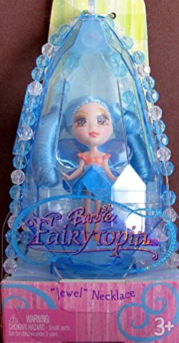 Barbie Fairytopia FAIRY  Jewel  Necklace & Ring Set - Blau SAPPHIE (2005) by Barbie