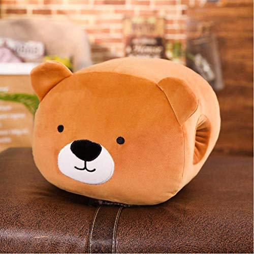 Detazhi Relleno de Dibujos Animados Toy Bear Bear Animales de Peluche Mano Caliente de la Materia Materia Plus Almohada Almohada Almohada Regalos for la Muchacha de los Cabritos 25cm