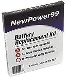 Kit de Remplacement de Batterie pour Samsung GALAXY Tab 3 8.0 Série (GALAXY Tab 3 8.0 SM-T310, GALAXY Tab 3 8.0...