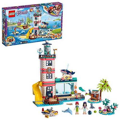 LEGO Friends Lighthouse Rescue Center 41380 Building Kit, New 2019 (602 Pieces)