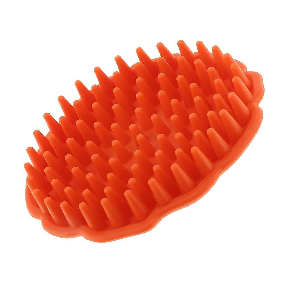 陰気一貫性のないシンプルさDYNWAVE シャンプーブラシ 頭皮マッサージブラシ マッサージャー お風呂 シャワー シリコン製
