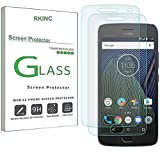 RKINC Screen Protector for Motorola Moto G5 Plus, Tempered Glass Screen Protector[0.3mm, 2.5D][Bubble-Free][9H Hardness][Easy Installation][HD Clear] forMotorola Moto G5 Plus(2 Pack)