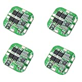 ZkeeShop 4Pcs 4S 20A 14.8V BMS Li-ION Lithium Battery Protection Board 18650 Charger Protection Board 16.8V Over Charge Over Discharge Short Circuit Protection