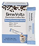 BrewVolta Electrolyte Decaf Tranquility Coffee, 20 Count