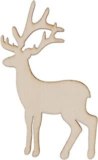 Best wooden deer ornaments Reviews