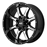 Moto Metal MO970 Gloss Black Wheel Machined With Milled Accents (17x8'/6x135,139.7mm, 00mm offset)
