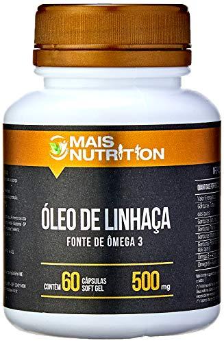 Mais Nutrition Oleo de Linhaca 500mg 60 capsulas