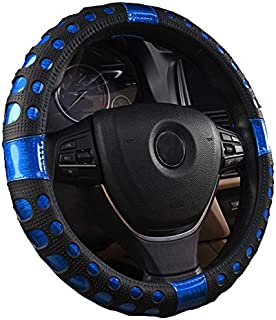 XiXiHao Colorful Steering Wheel Cover for Men Women 2018 New Cute Beautiful Blue