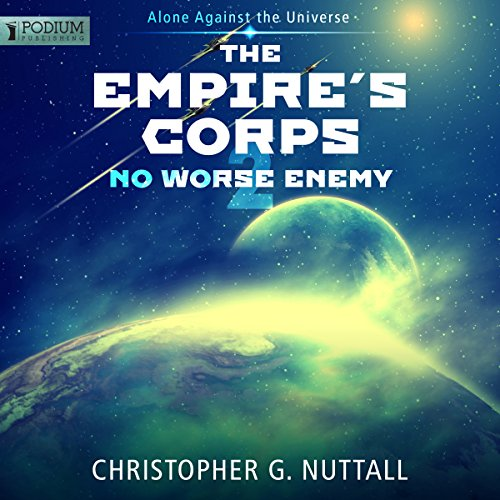 No Worse Enemy audiobook cover art