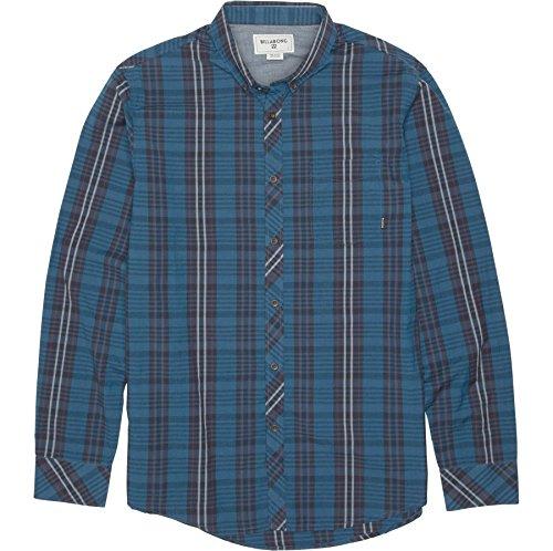 BILLABONG Herren Hemd Redford Long Sleeve Woven - Blau - X-Groß