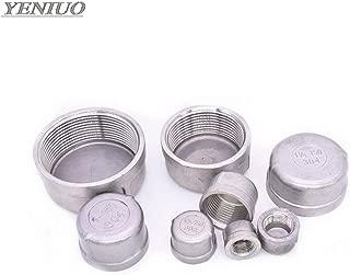 Maslin 304 stainless steel inner silk tube cap/head/tube plug pipe fittings 1/8