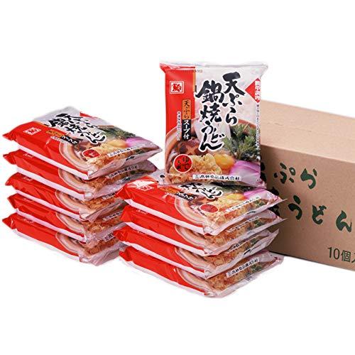 高砂食品 簡単調理 天ぷら鍋焼うどん 1ケース10食入り ゆで【常温保存可能】