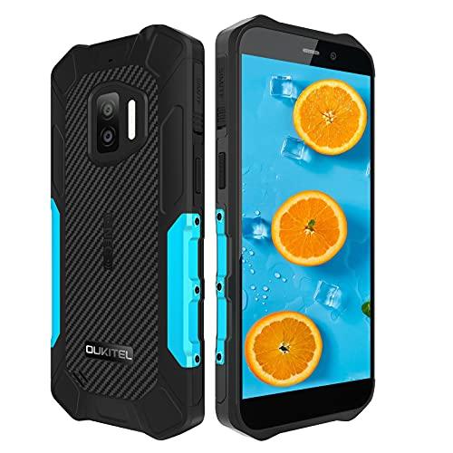 "OUKITEL WP12 Rugged Smartphone in Offerta, Dual 4G Impermeabile Android 11 Antiurto Telefono Robusto, IP68/IP69K 4+32GB Telefonia Cellulari Economici, 5.5"" HD+ 4000mAh Batteria, Triple Camera, NFC/GPS"