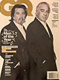 GQ MAGAZINE - DECEMBER 2019 - (THE 2019 MEN OF THE YEAR) THE GODFATHERS: AL PACINO AND ROBERT DE NIRO