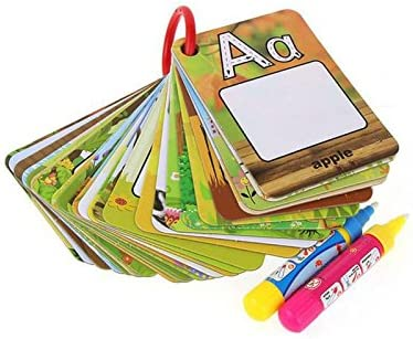 Water Reveal Word Cards Drawing Recommended wit Doodle Card Paint Book Direct store