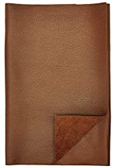 100% Genuinue Finished Cow Leather Approximately 0.8 - 1 MM Thickness, or 2.5 oz AVAILABLE IN DIFFERENT COLORS Great Leather for Arts & Crafts Great For soft Leather garments and accessories