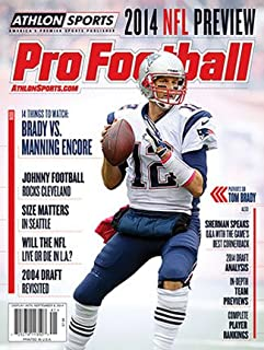 2014 Athlon Sports NFL Pro Football Magazine Preview- New England Patriots Cover