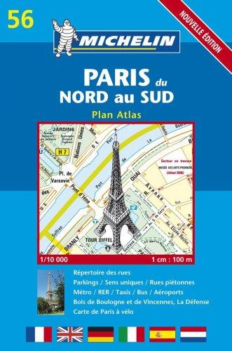 Paris du nord au sud (Stadtpläne (Kartographie))