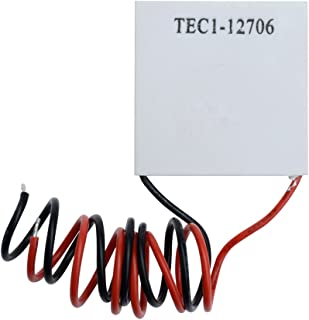 Aideepen TEC1-12706 12V 6A Heatsink Thermoelectric Cooler Cooling Peltier Plate Module 40x40MM (1 pcs)