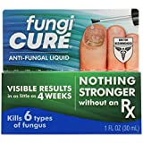 FUNGICURE Anti-Fungal Liquid - Maximum Strength - Kills Exposed Nail-Bed Fungus - Visible Results in as Little as 4 Weeks - 1 fl oz