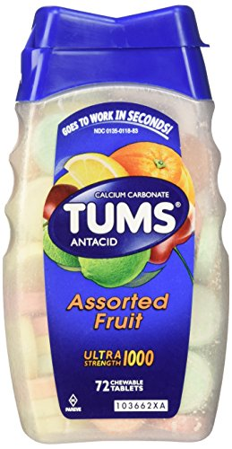 Tums Ultra Strength 1000 72 Tablets by Tums