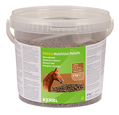 Kerbl MultiVital Pellets Complément Alimentaire pour Cheval 4 kg