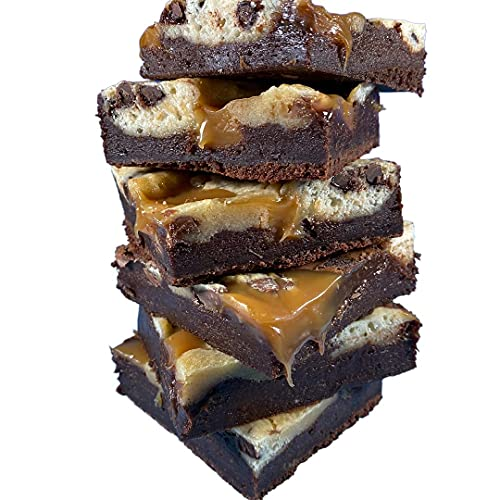 Northern Brownies - 8 Brownies Mixed Box - Flavours Include Caramel Cookie...