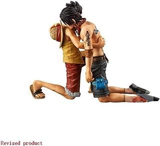 Yang baby One Piece: Portgas D. Ace/Monkey D. Luffy de una Pieza Estatua (la Muerte de Ace) - Alrededor de 10,6 Pulgadas de Alto (27 cm)