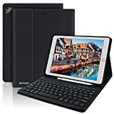 Funda con Teclado Español para iPad 2018(6th Gen)/iPad 2017/iPad Pro 9.7/iPad Air 2/1,...