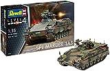 Revell 03261 Modellbausatz, Panzer 1:35-SPZ Marder 1 A3, Level 4, orginalgetreue Nachbildung mit vielen Details-03261 -