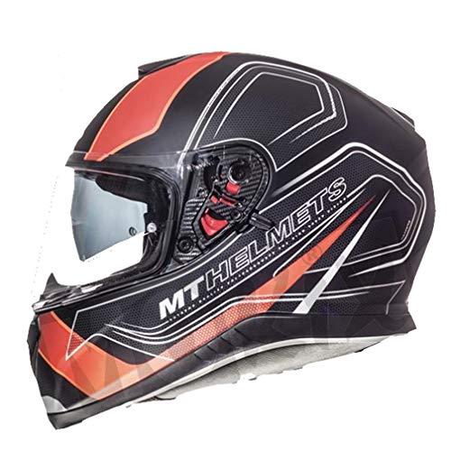 colore Bianco//Grigio perlato Casco da moto MT Blade 2 SV Fugue